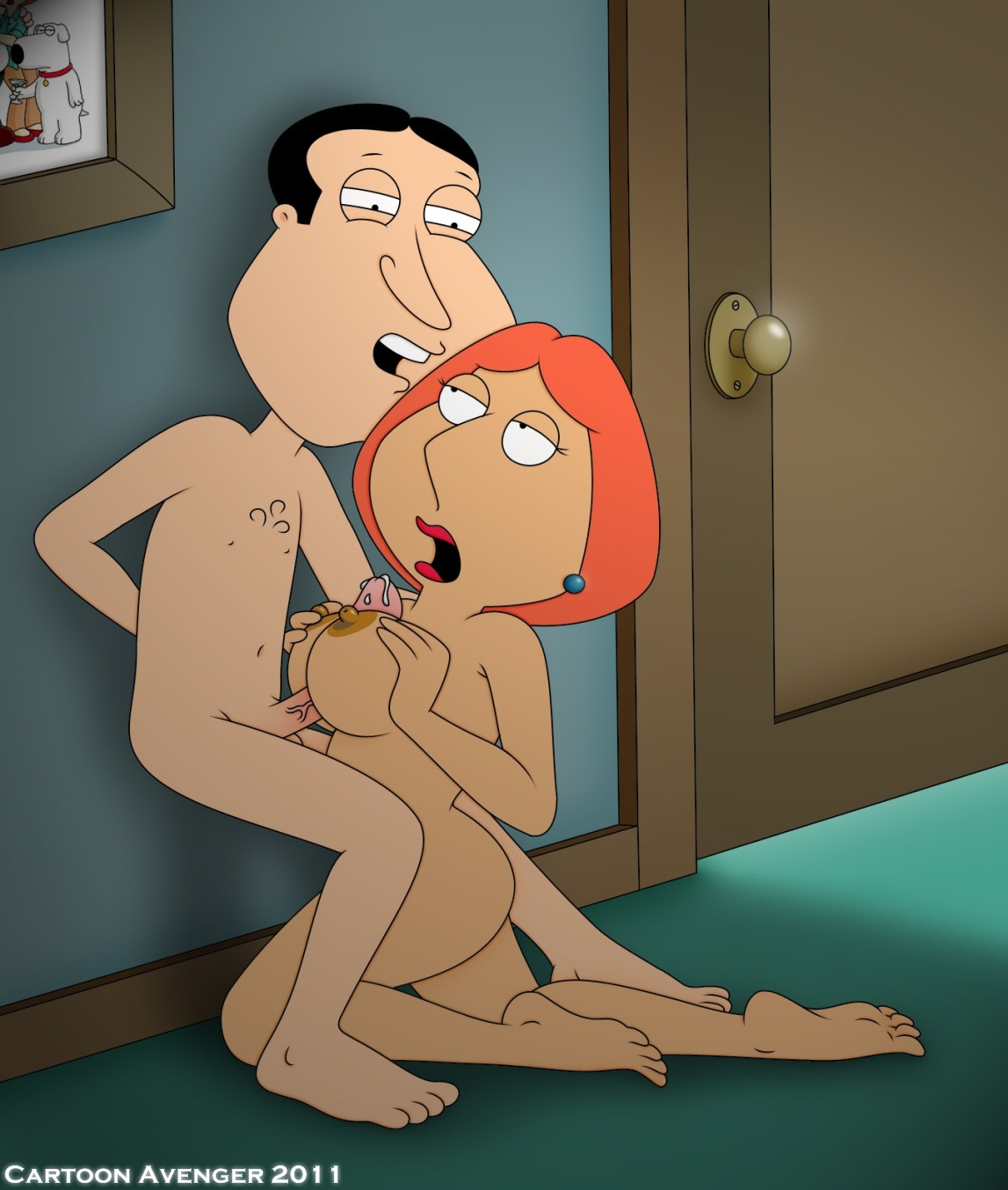 lois griffin from family guy nude