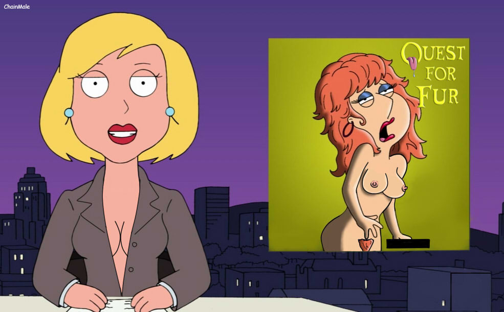 Family guy having beach sex speaking, would