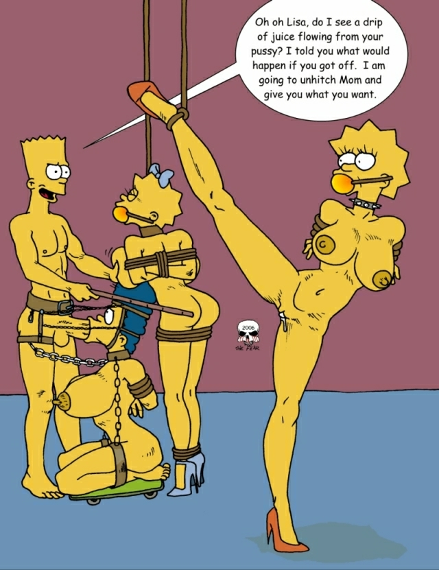 lisa maggie porn Simpsons and