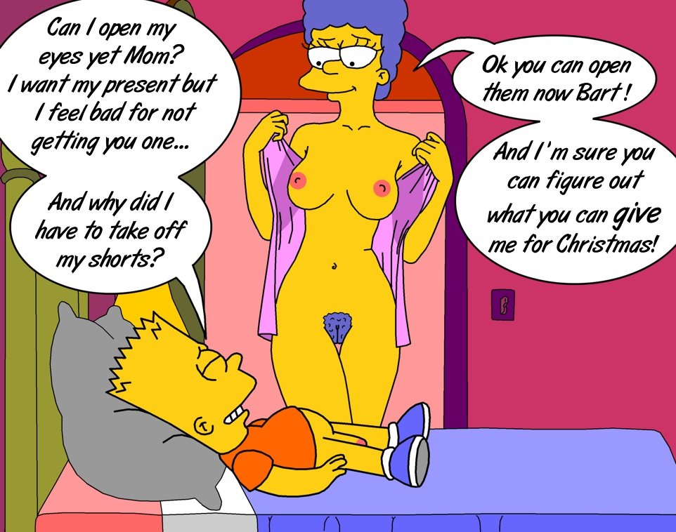 blowjob porn Marge bart cartoon