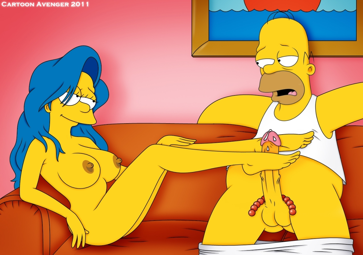 los simpsons porno video
