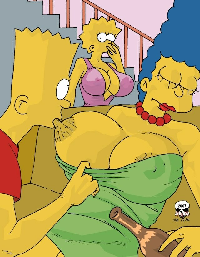 Good piece Marge and bart simpsons cartoon porn comics