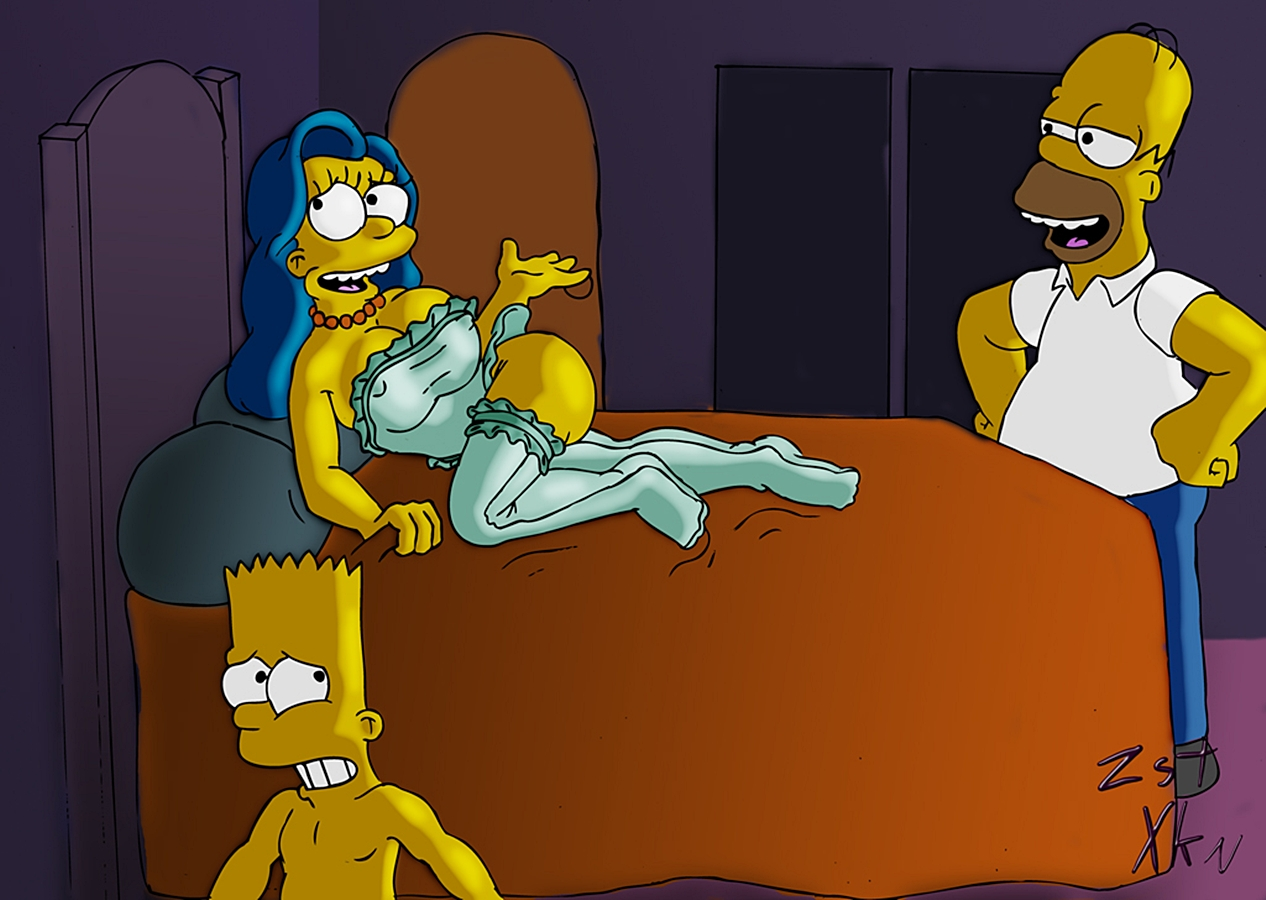 Confirm. agree Bart and marge sex