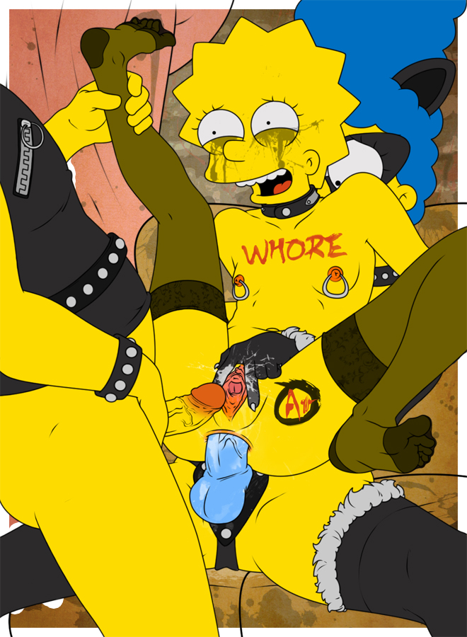Simpsons porn homer and lisa