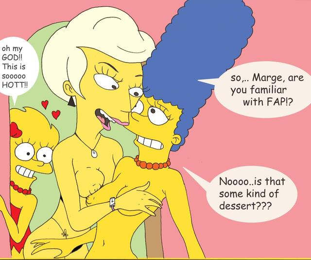 marge and lisa simpson porn porn media marge