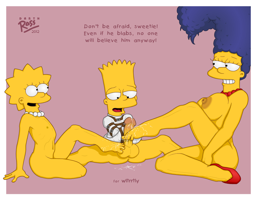 Marge And Lisa Simpson Porn Simpsons Bart Ross