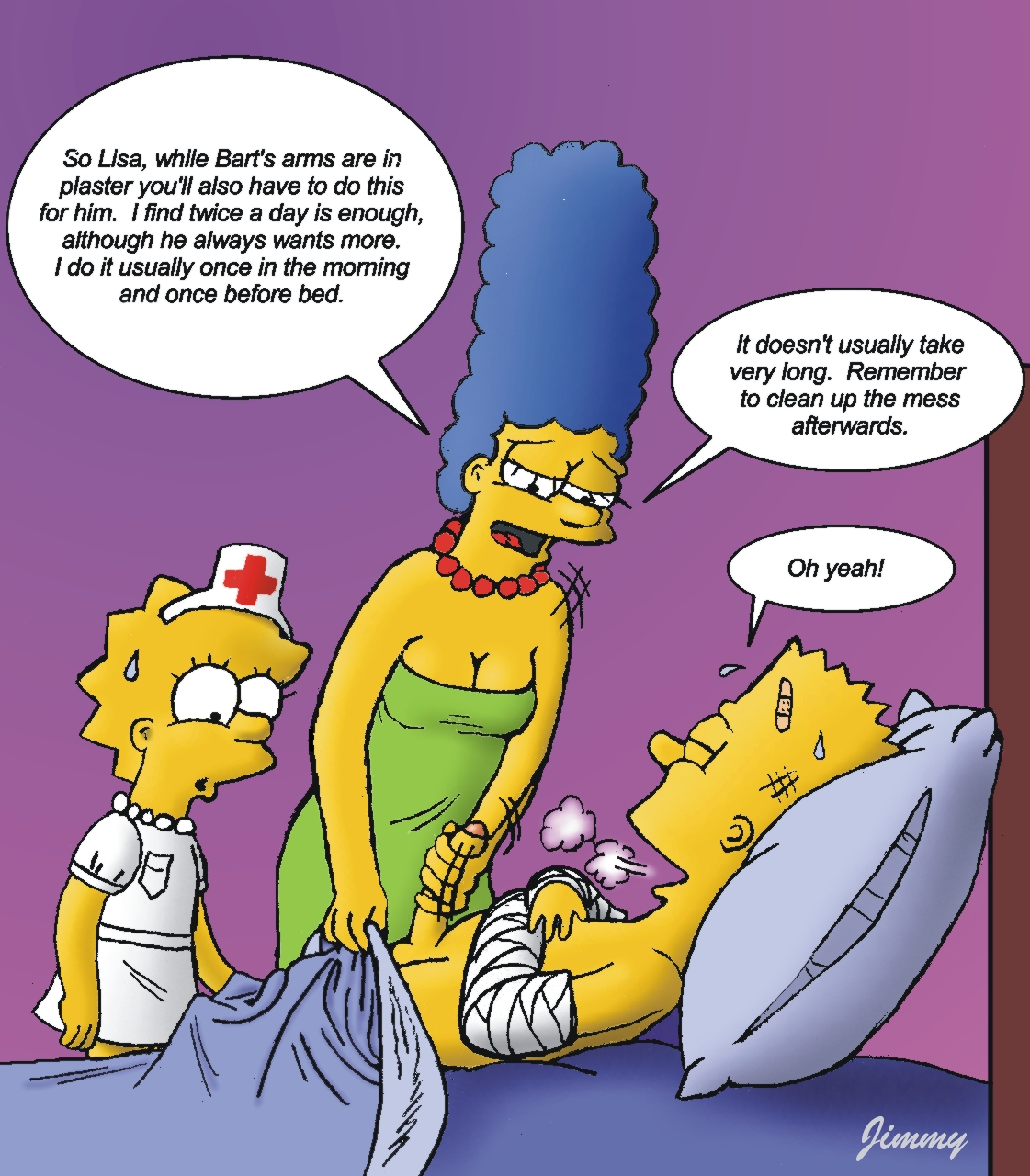 Marge And Bart Lisa Simpson Porn