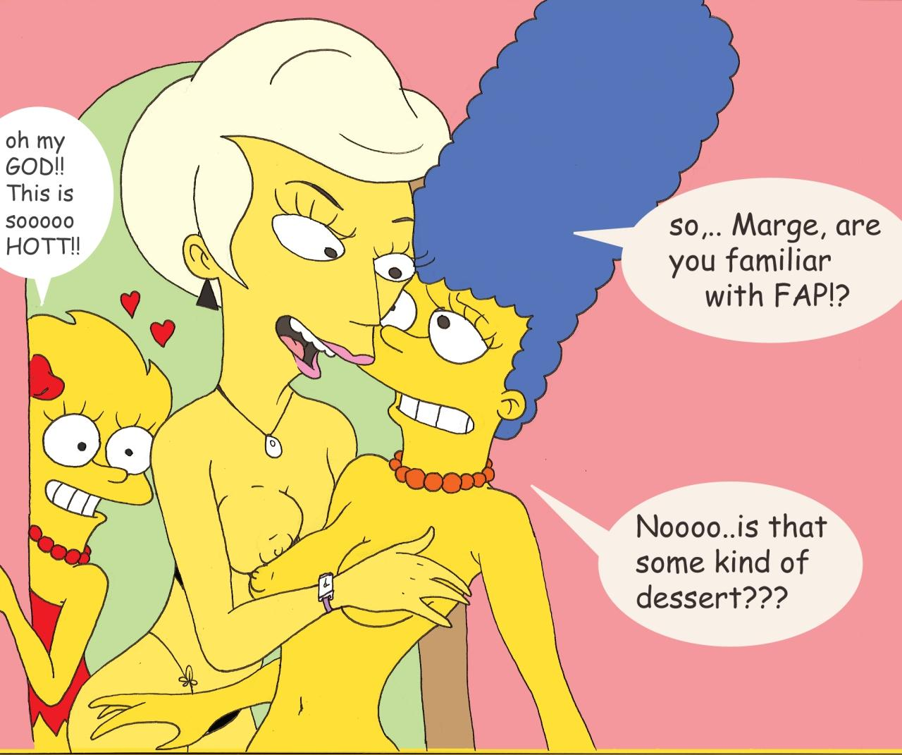 Marge And Lisa Simpson Porn Simpsons Aaf Lindsey