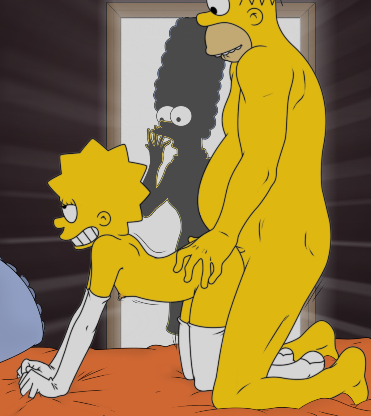 Marge And Lisa Simpson Porn Simpsons Homer Aaea