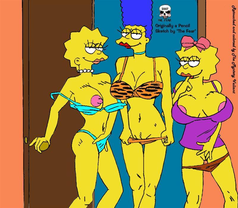 Marge Maggie Lisa Simpson Porn