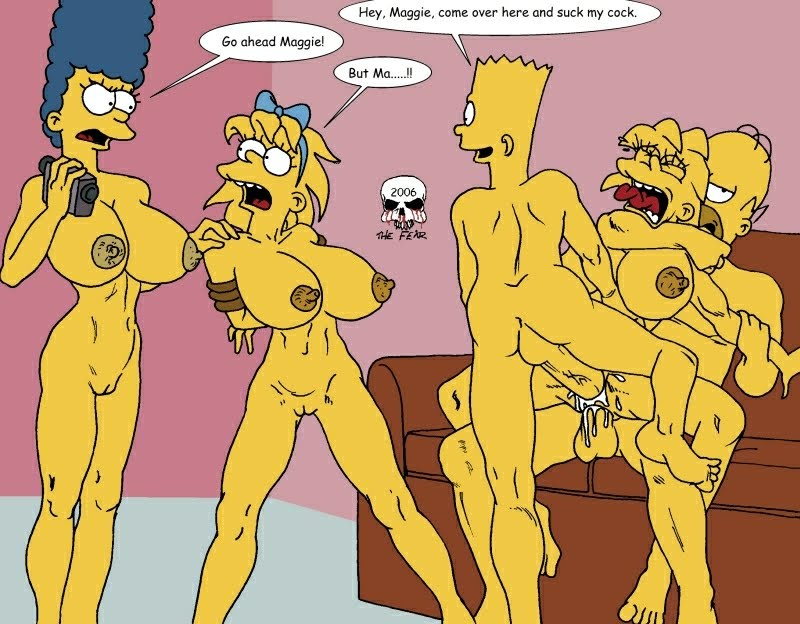 Bart And Marge Simpson Hentai Gif