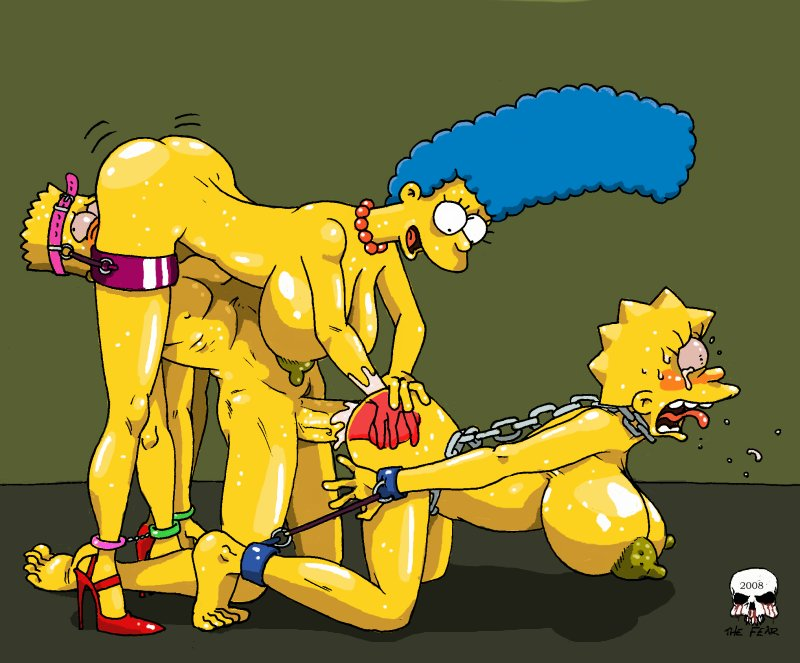 Marge And Lisa Simpson Porn Simpsons Bart Aab