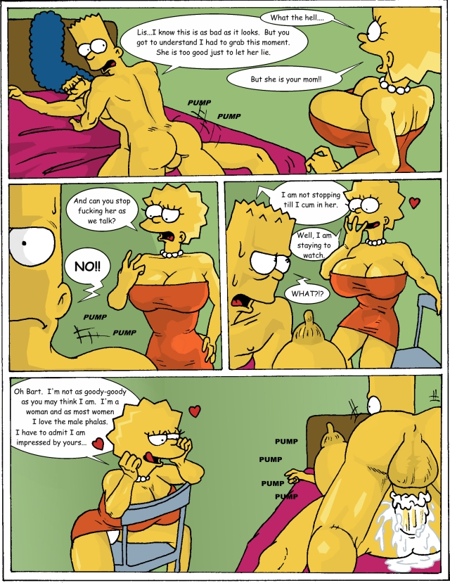 The Simpsons Porn Comics and The Simpsons Sex