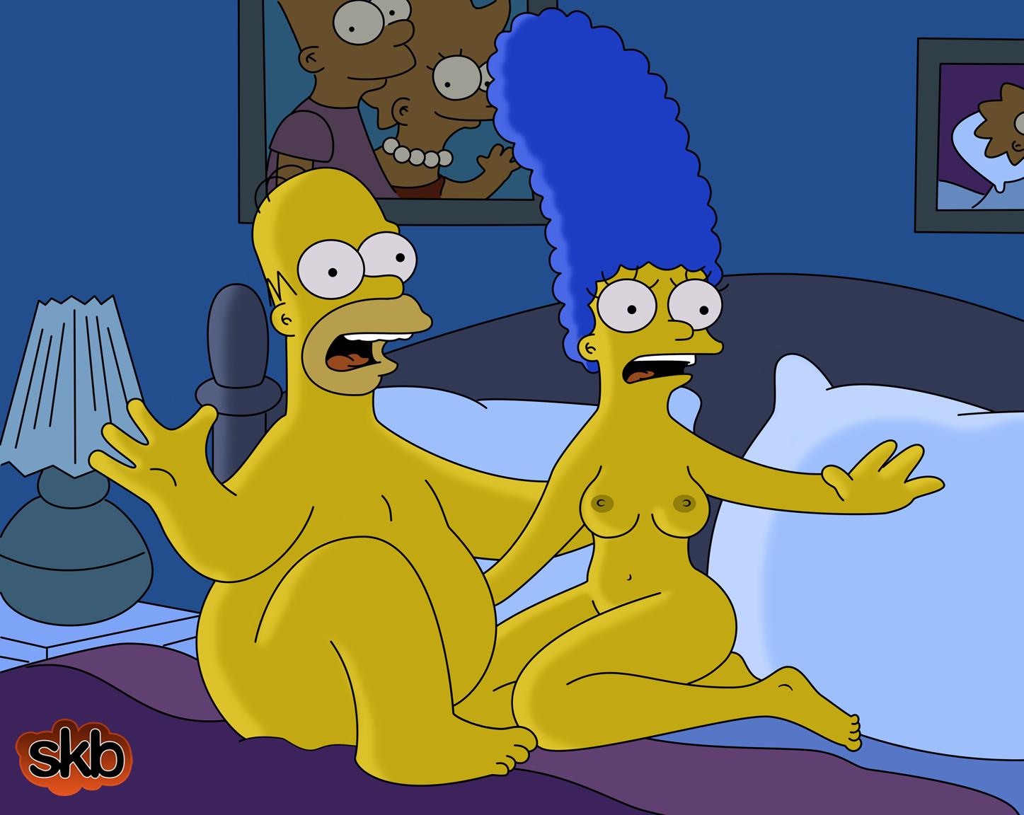 Мардж и гомер занимаются сексом