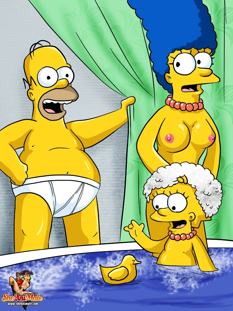 Marge Simpson Porn Media Bart
