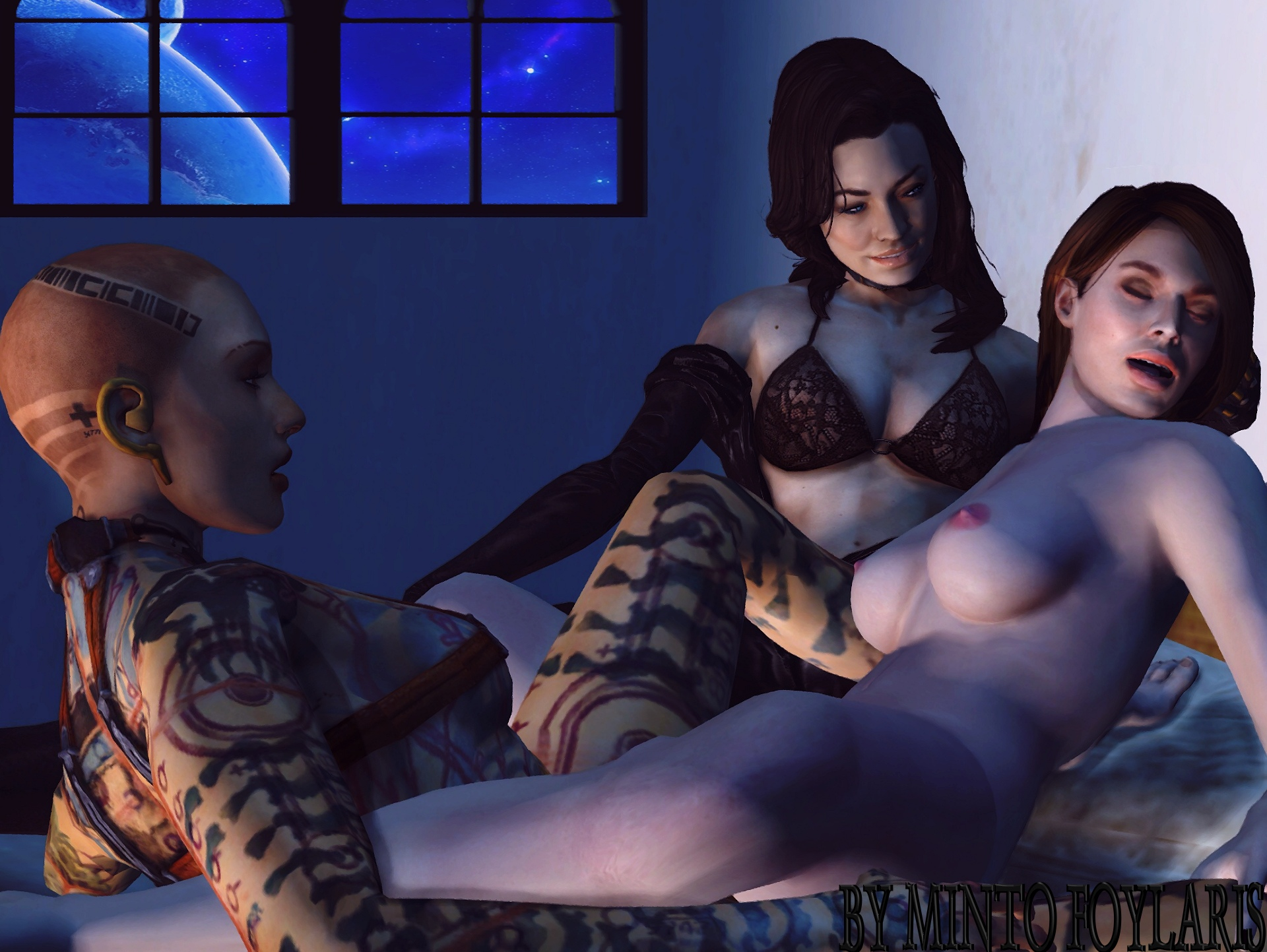 Porn stories of mass effect 2 sexy picture