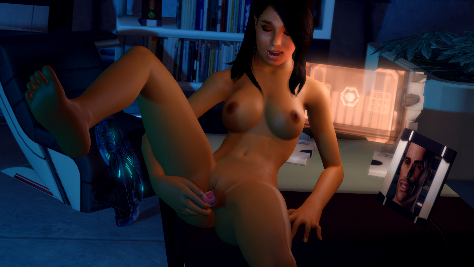 Mass effect 3 ashley williams nude porn xxx boobs