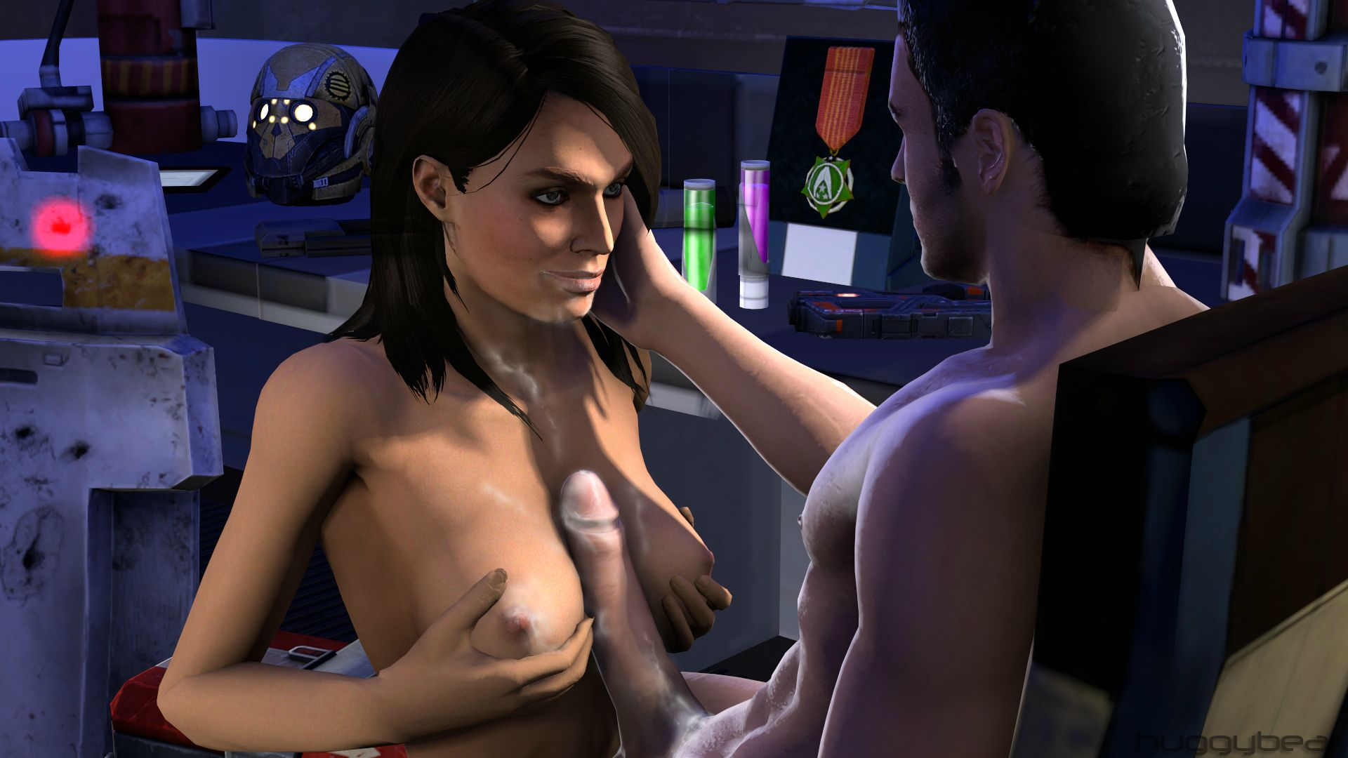 Nude sex Mass effect