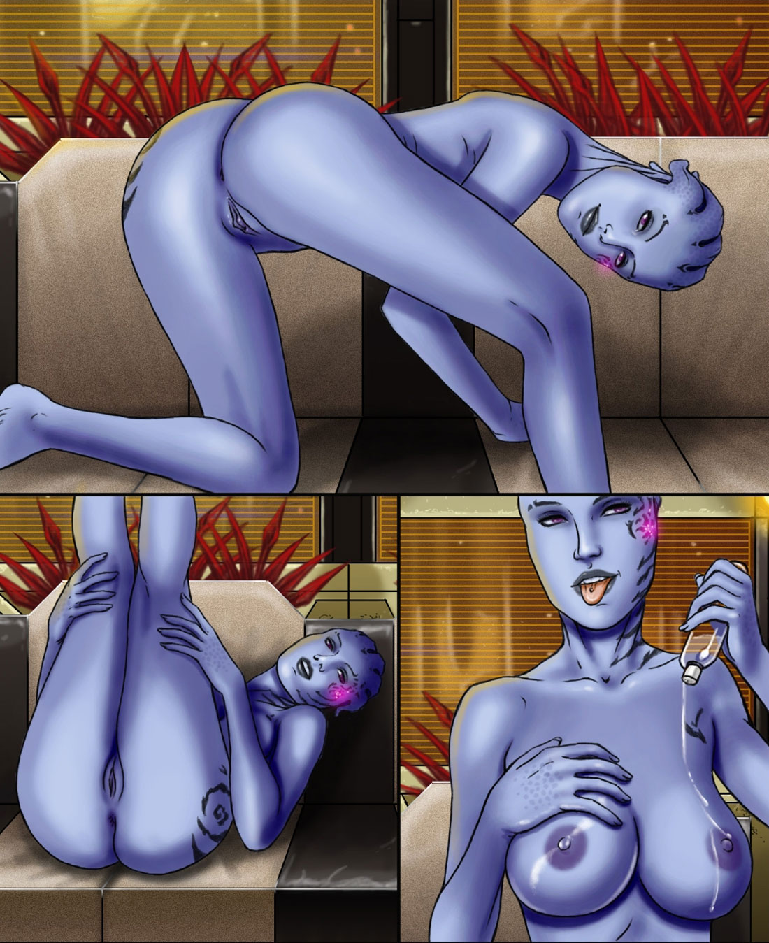 Mass effect sex hentai pic sex scene