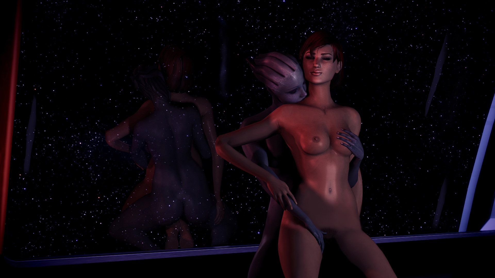 Hot naked mass effect erotic movies
