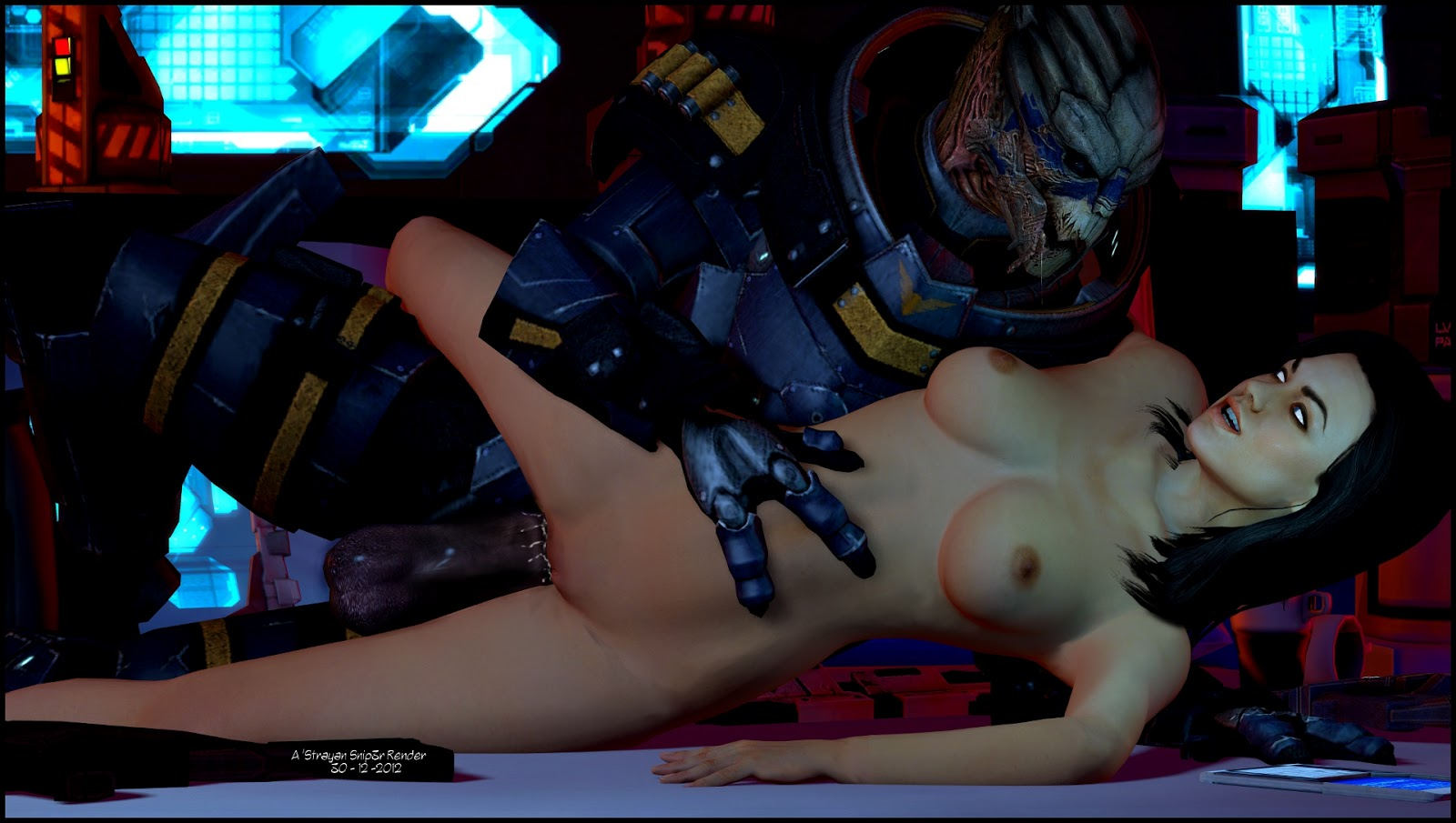 Mass effect female character porn mod hentia video