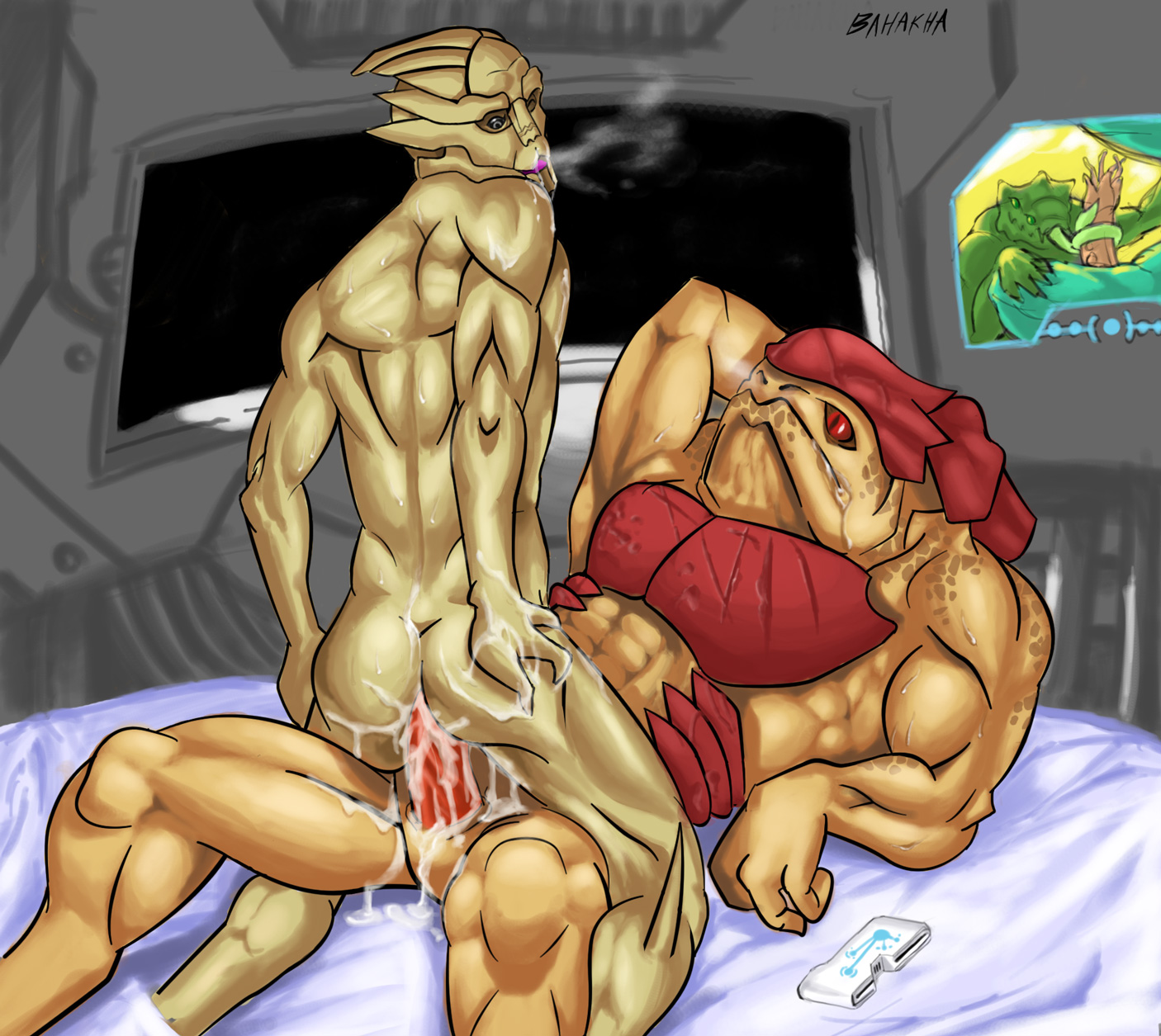 Mass effect gay alien 3d porn erotic picture