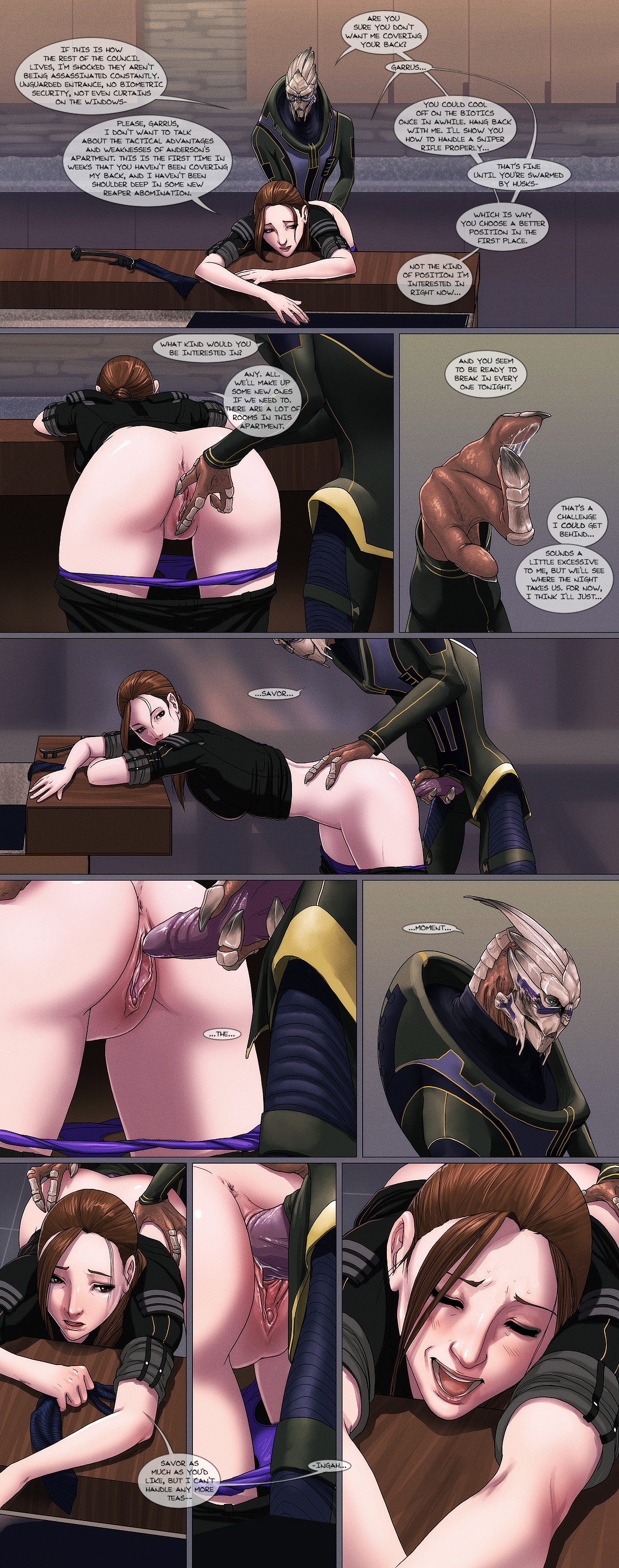 Mass effect porn jane xxx video