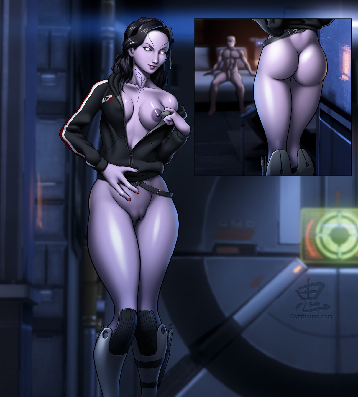 Mass effect tali nude sexy image