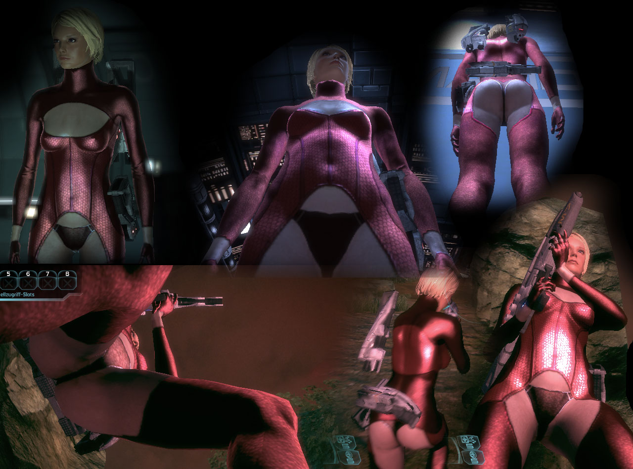 Mass effect nude mod fucked video