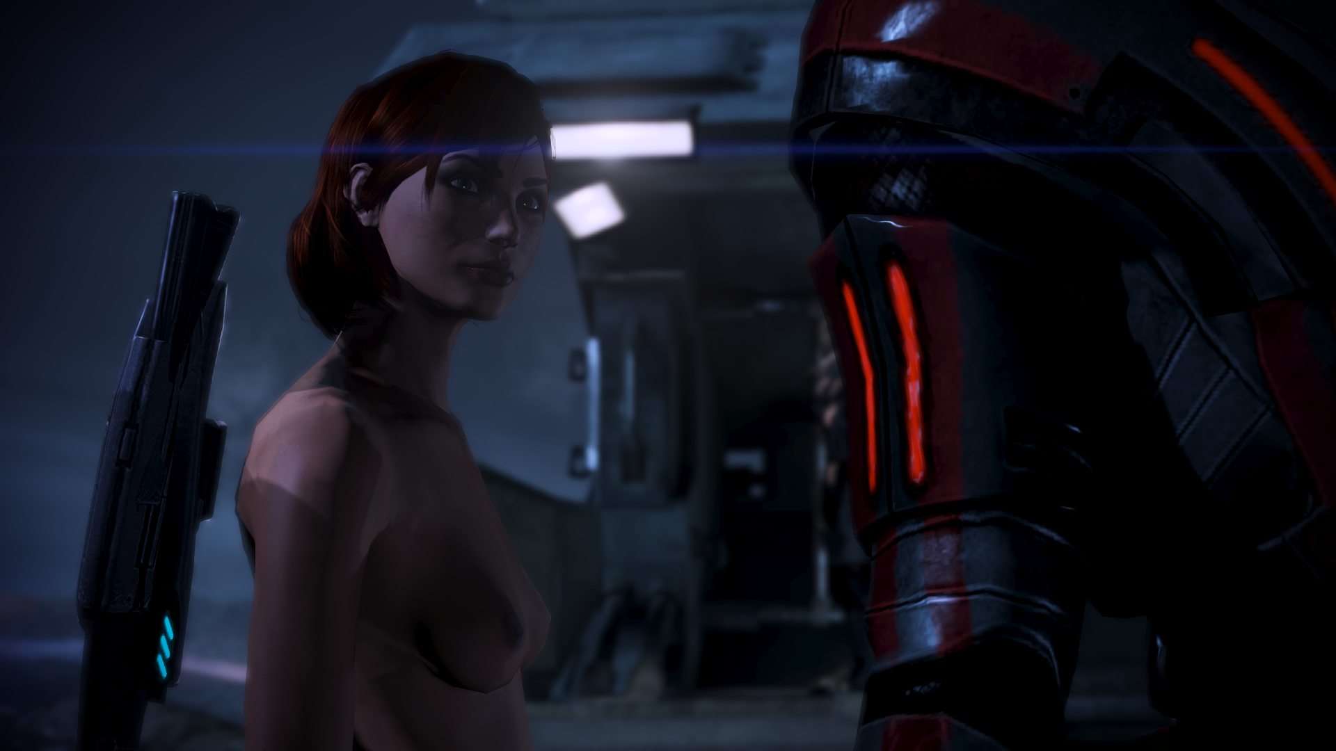 Mass effect 3 nude mode sexy pics