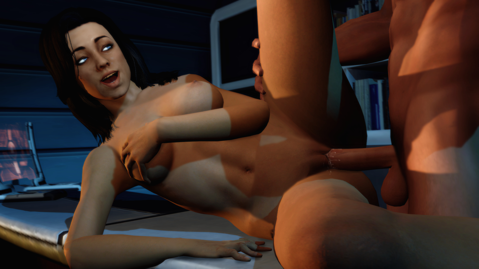 mass effect naked females
