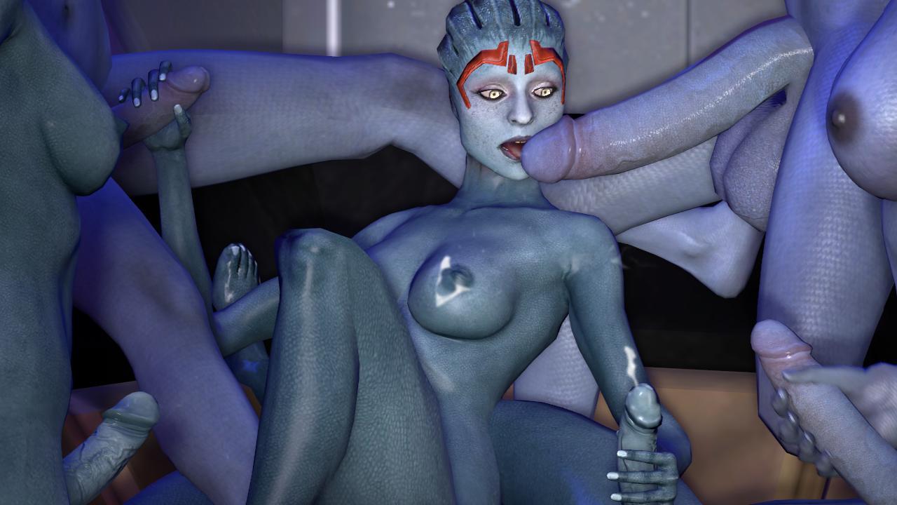 Mass Effect Porn Mass Effect Asari Samara Knogg