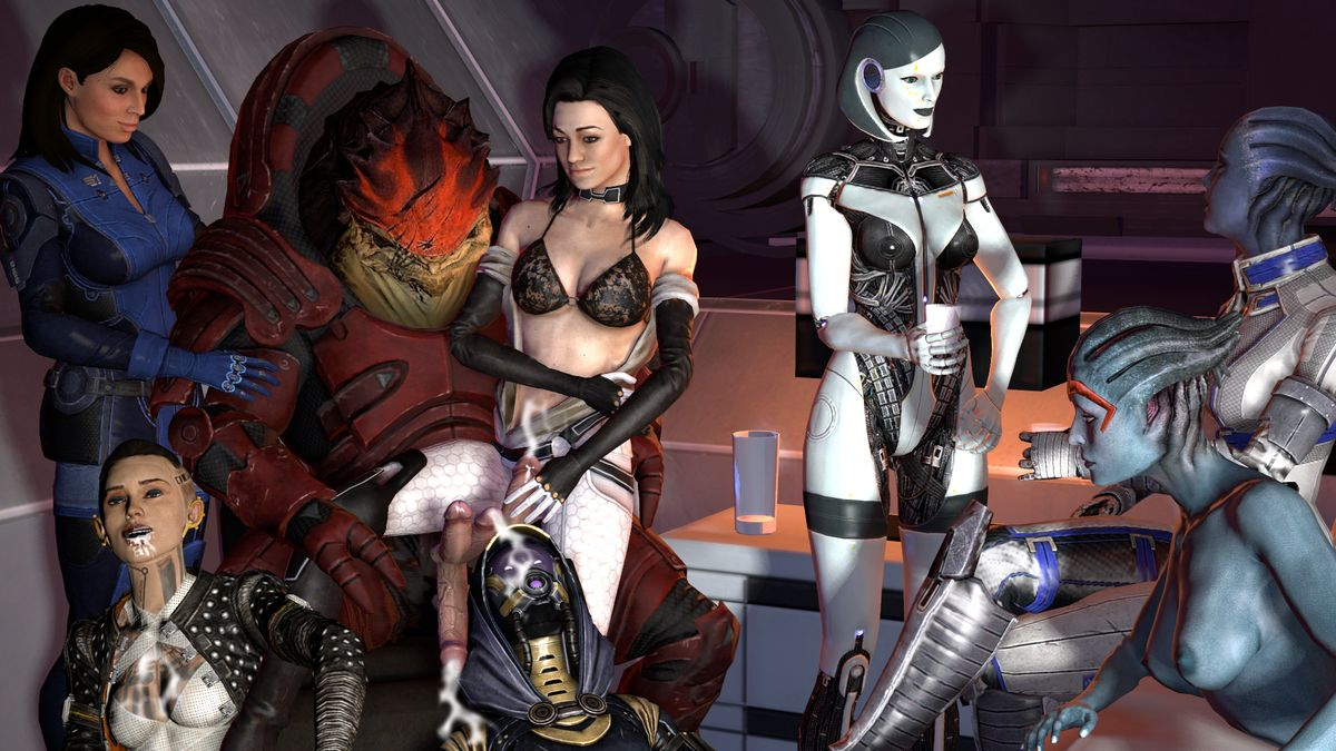 Mass effect XXX porn famous bitch