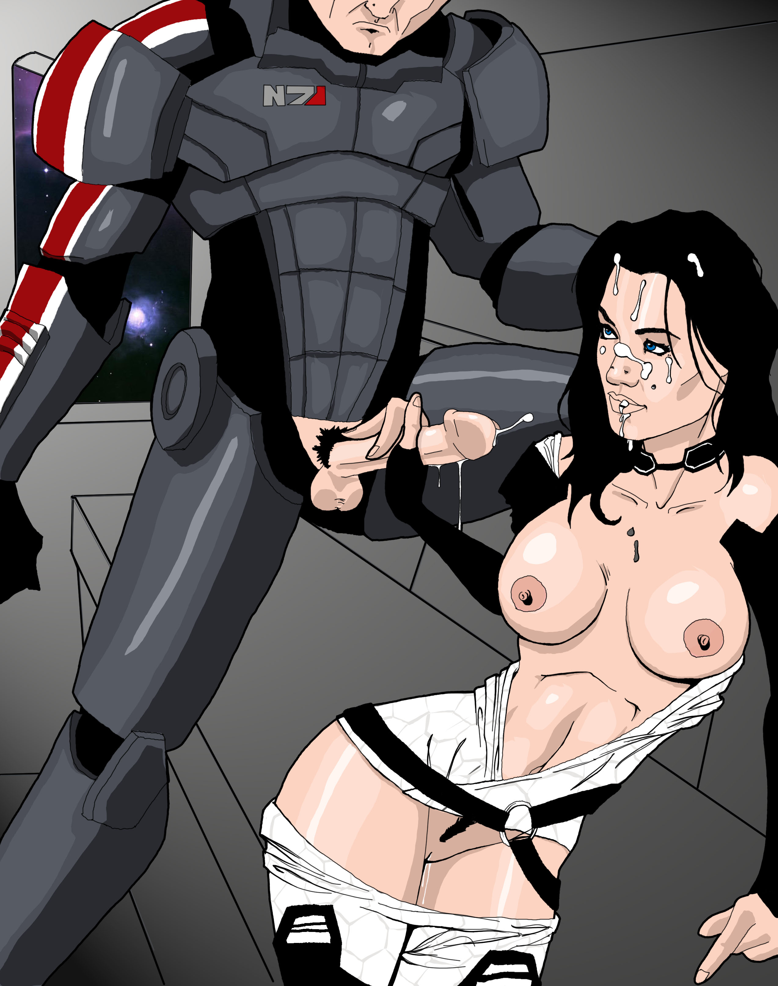Mass effect hentai sex galleries naked scene
