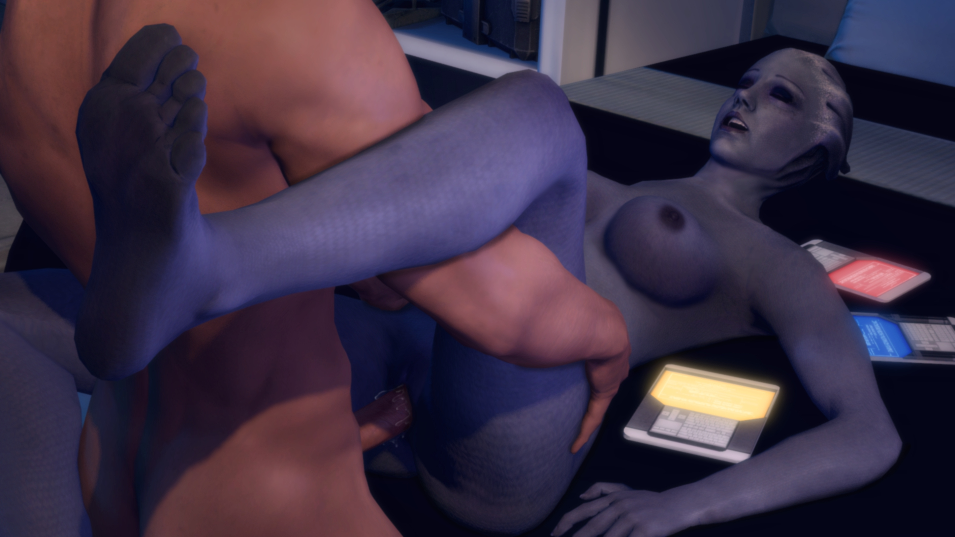 Liara mass effect nude animated sex scene nackt image