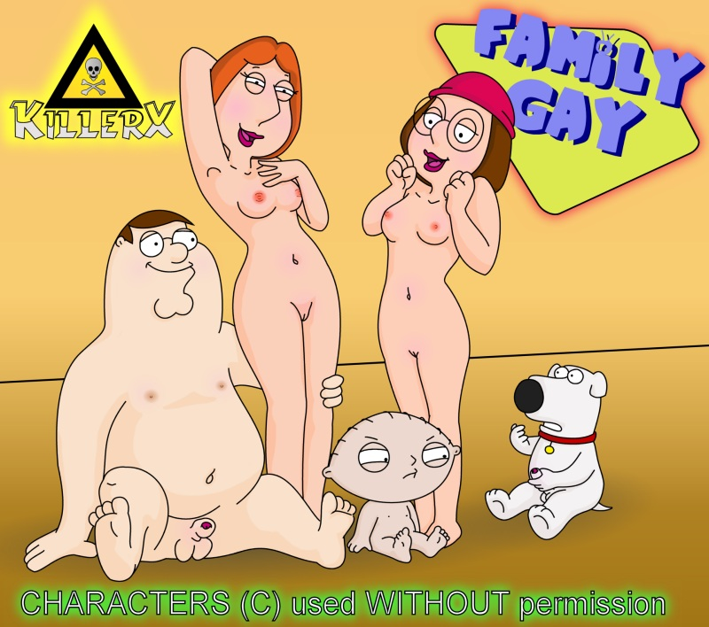 naked meg griffin alone