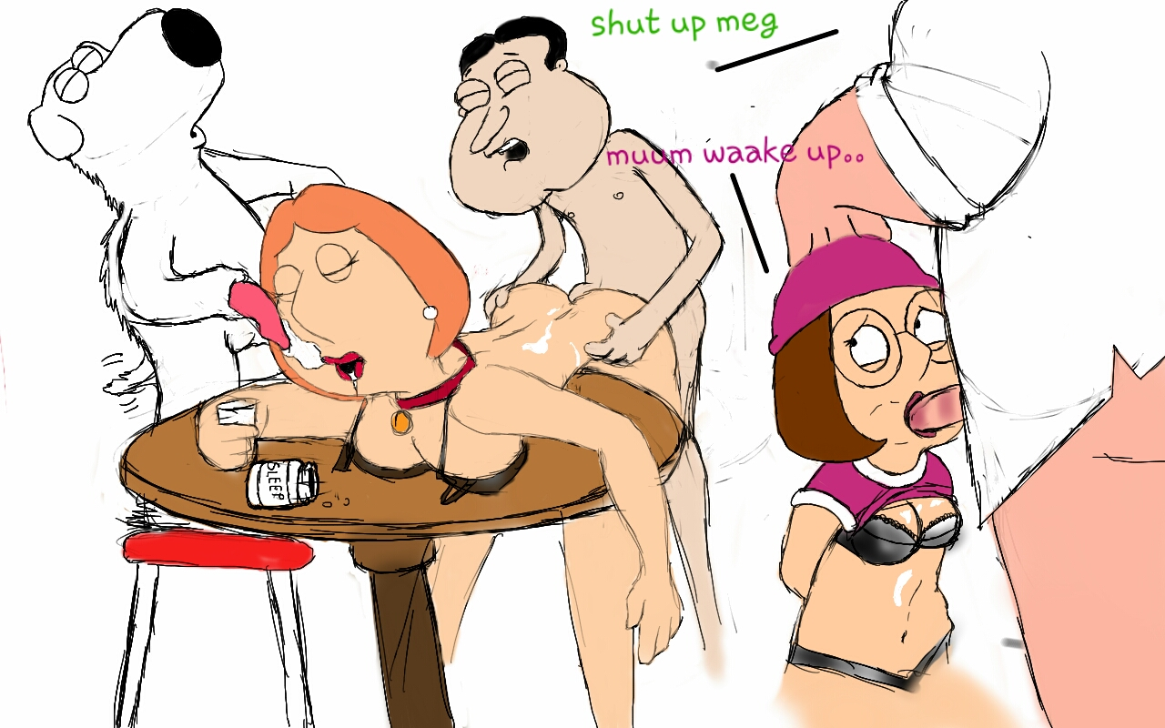 meg griffin naked and hypnotised