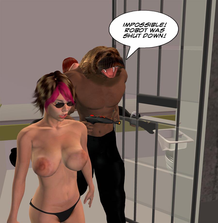 cartoon porn alien