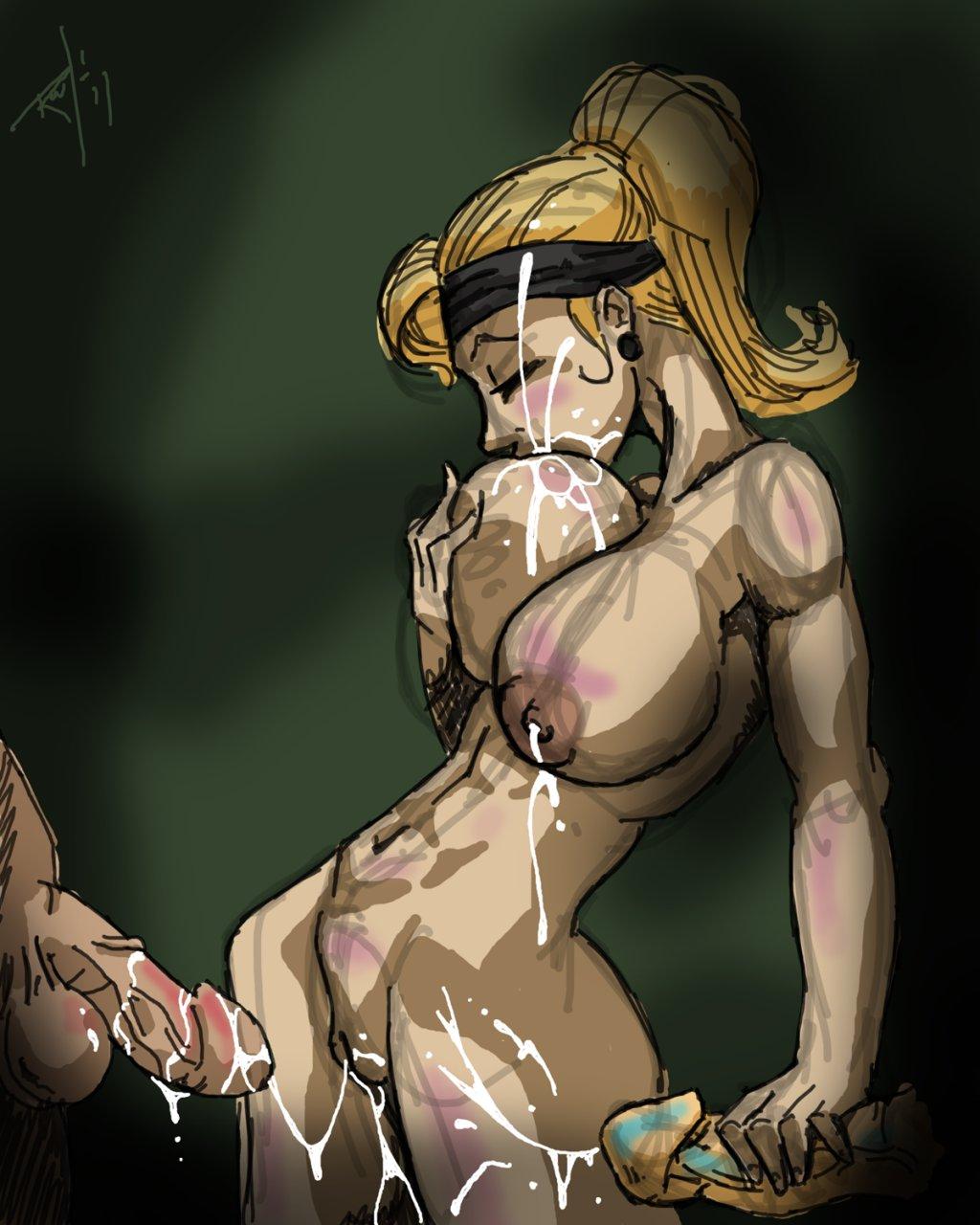 Секс с sonya blade 14 фотография