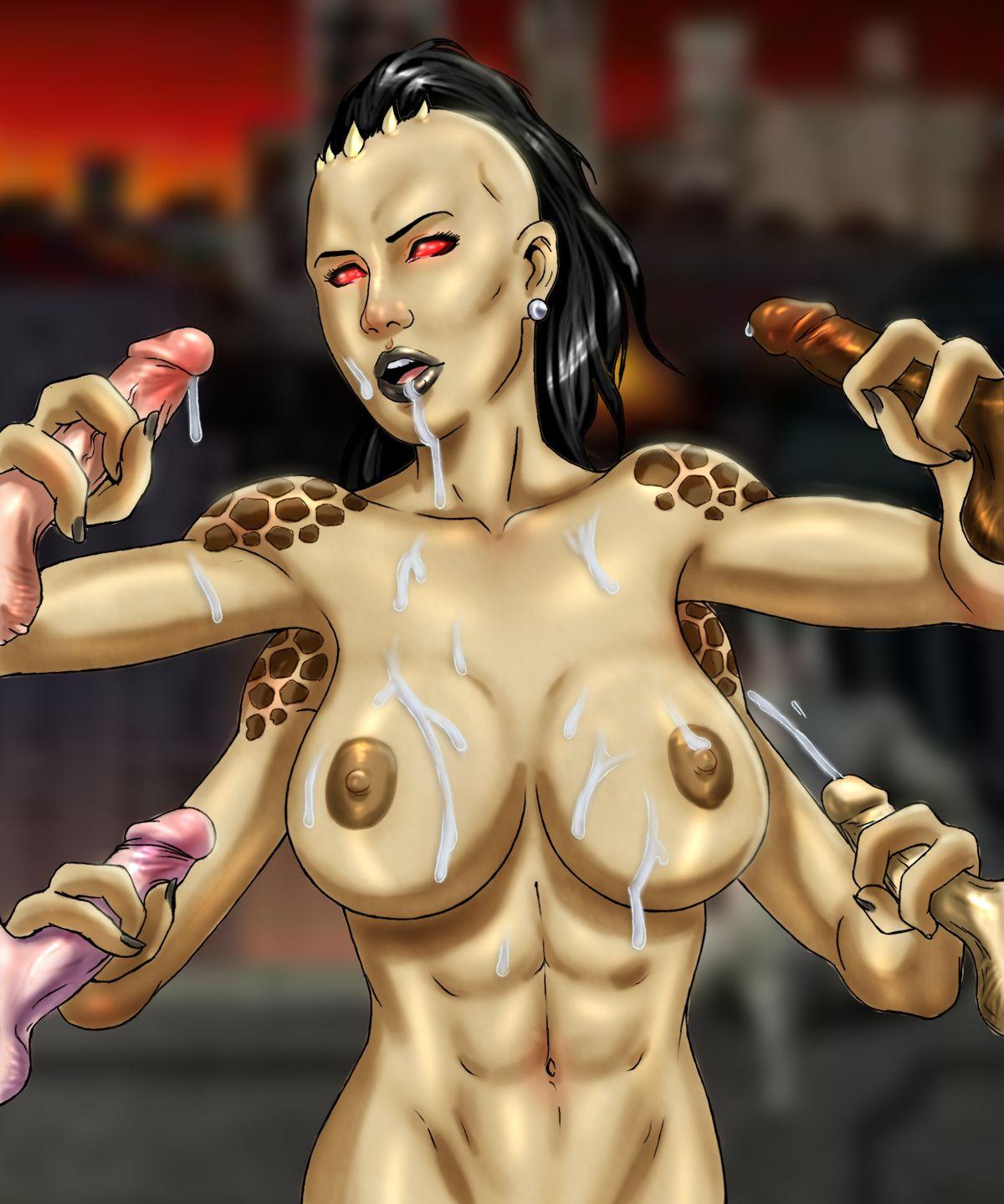 Mortal kombat sheeva hentai porn image
