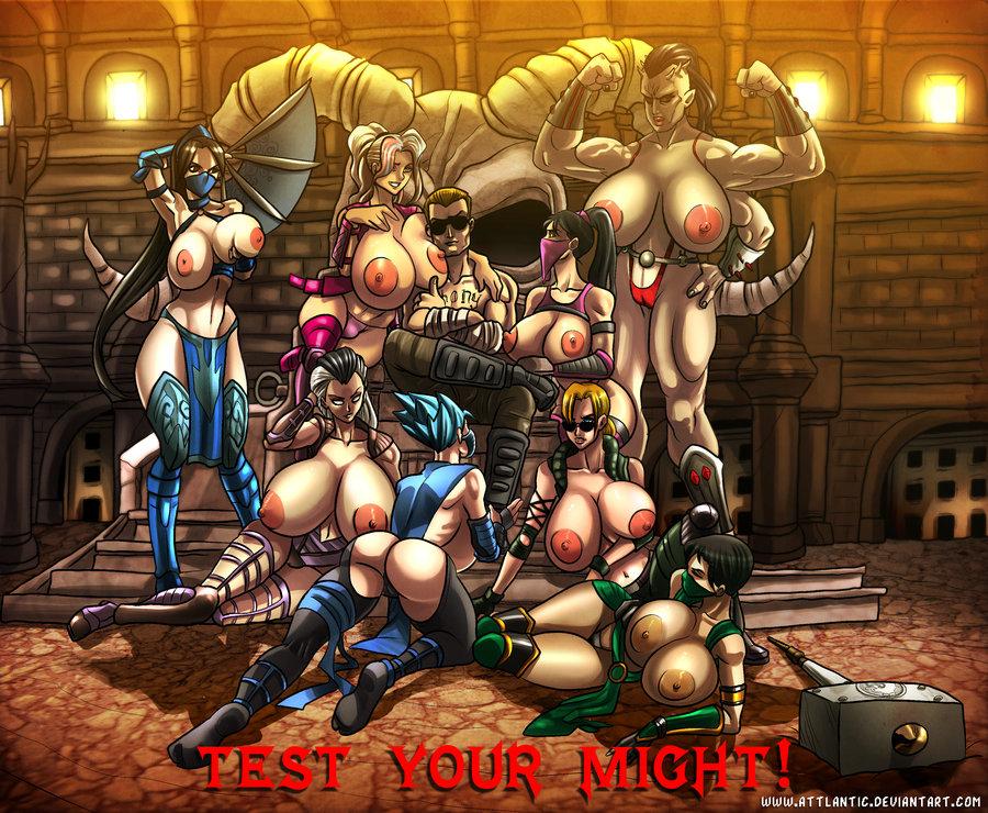 Mortal Kombat Hentai Kitana Johnny Tenshi Jade