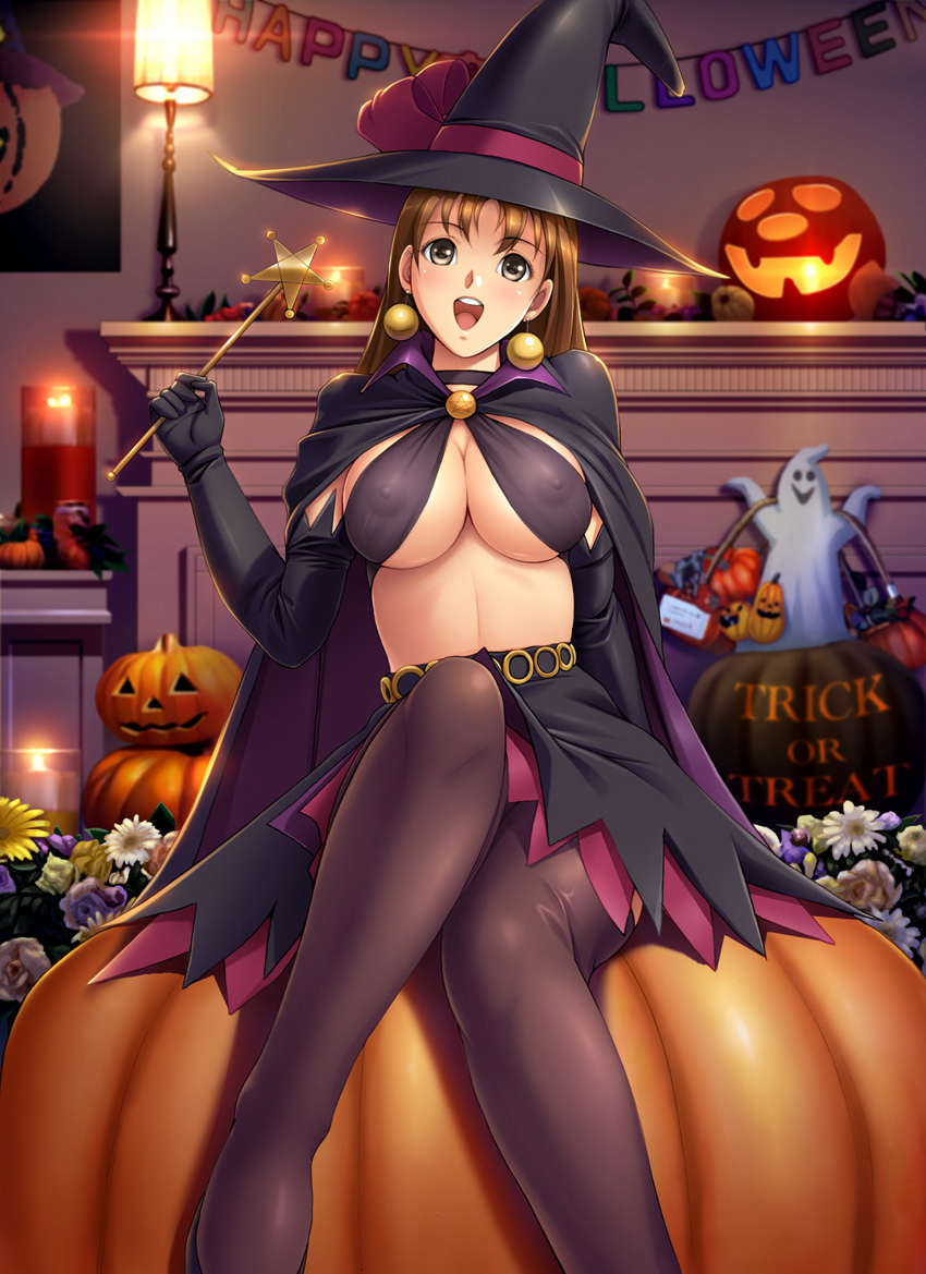 Halloween witch sexy anime girls hentai