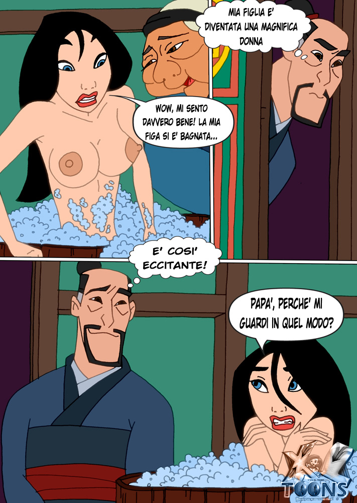 Disney toon sex comic