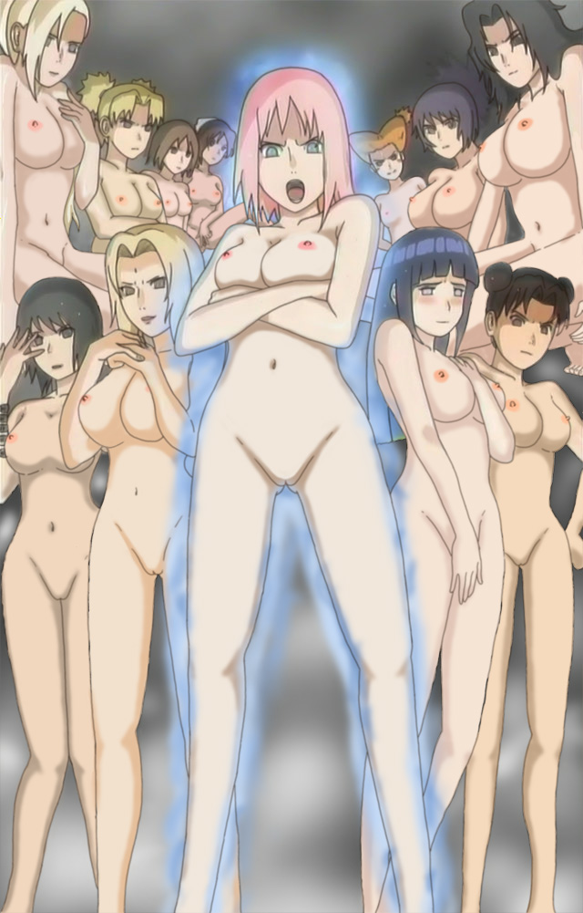 naruto girls nude wet