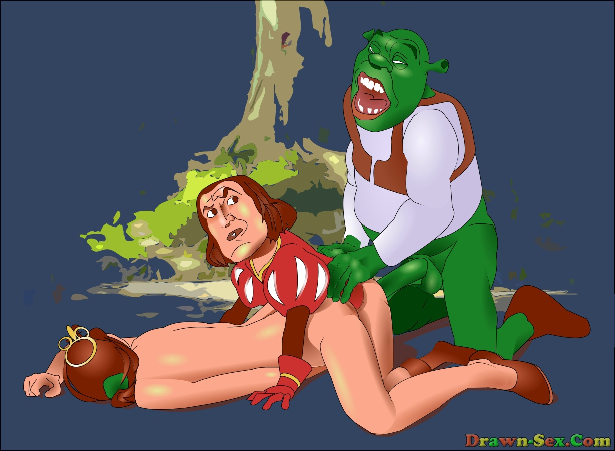 Free sex shrek and fiona cartoon video