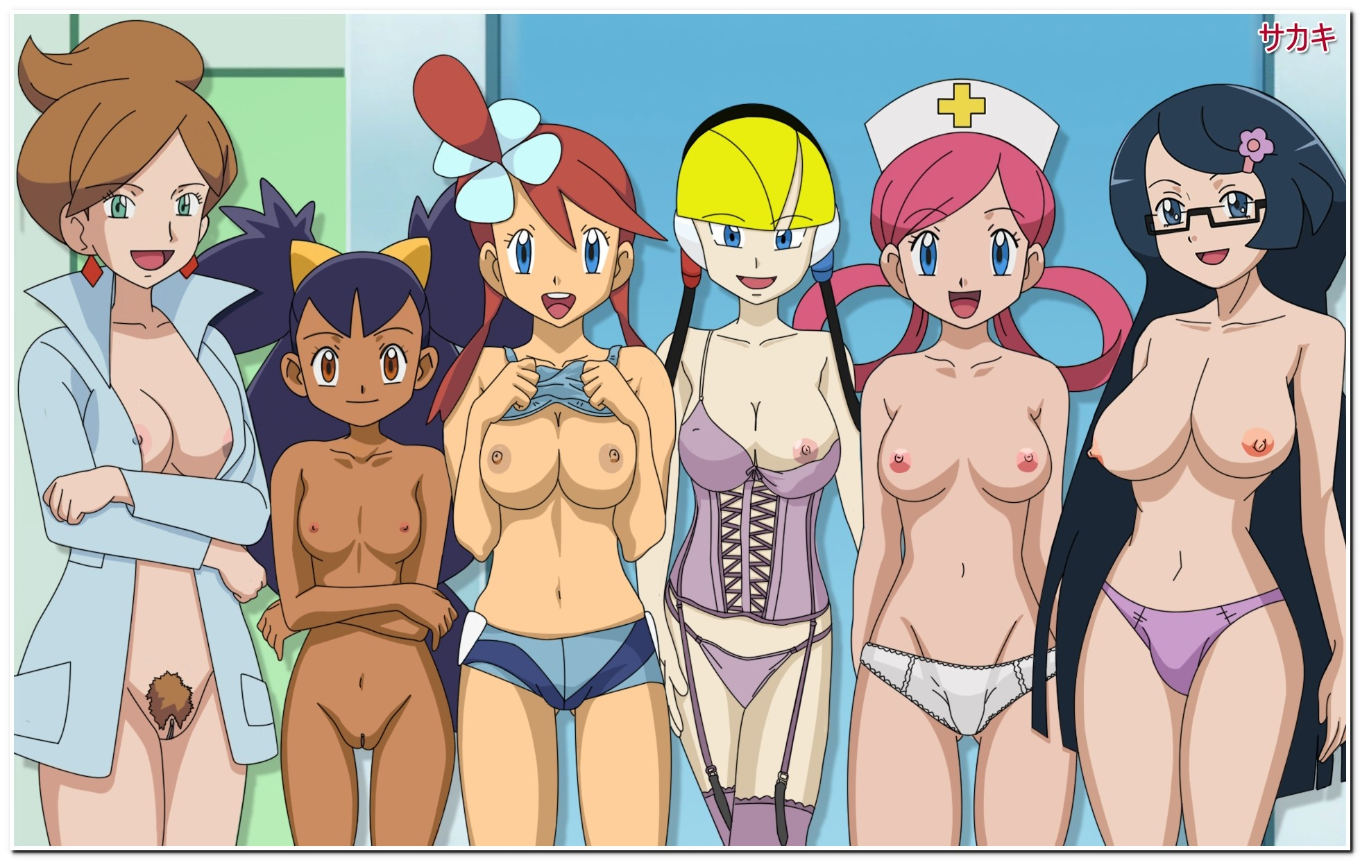 Nude pokemon game cartoon film