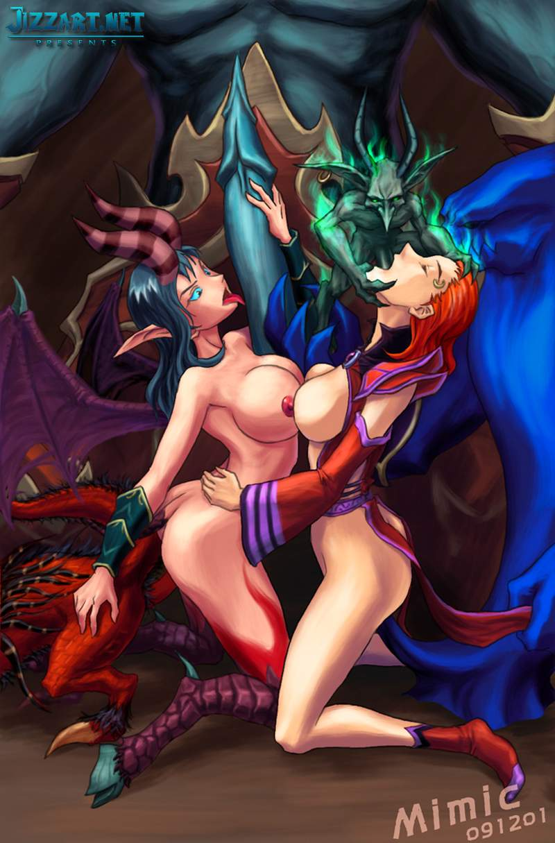 Sexy world of warcraft girls having sex sex movies
