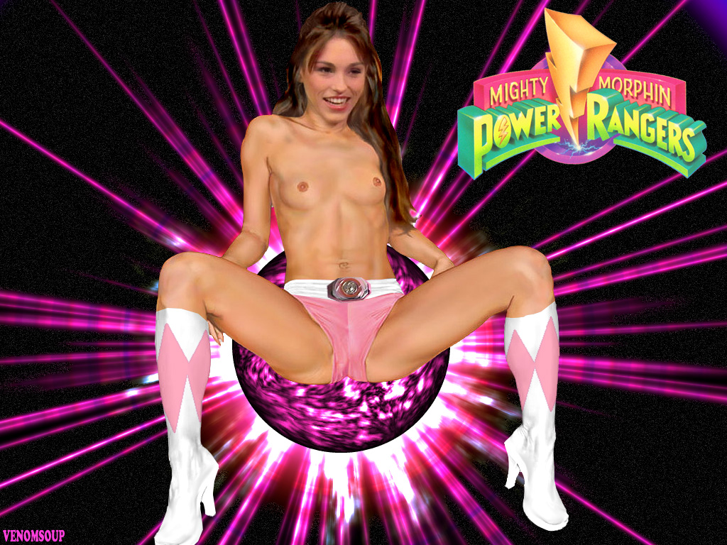 Pink power ranger porn
