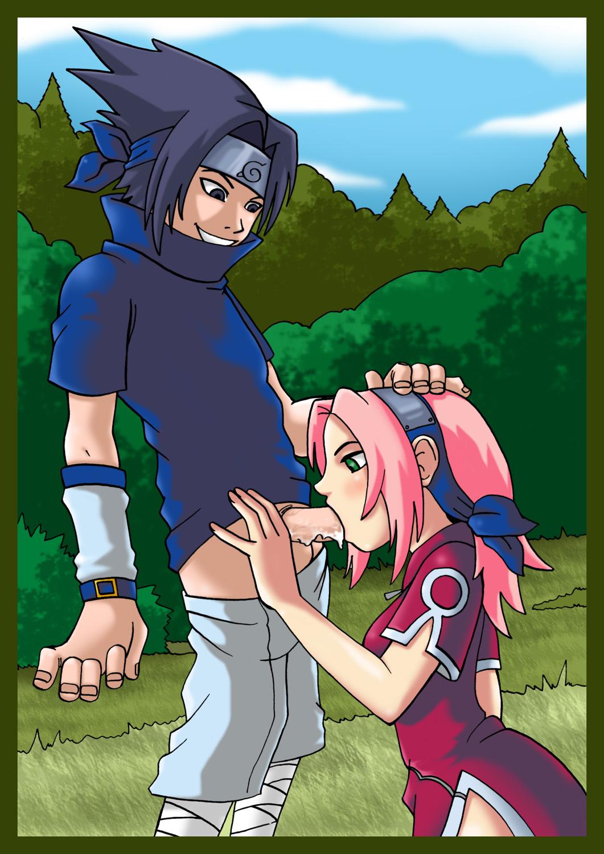 Секс с сакурой в лесу фото 597-503