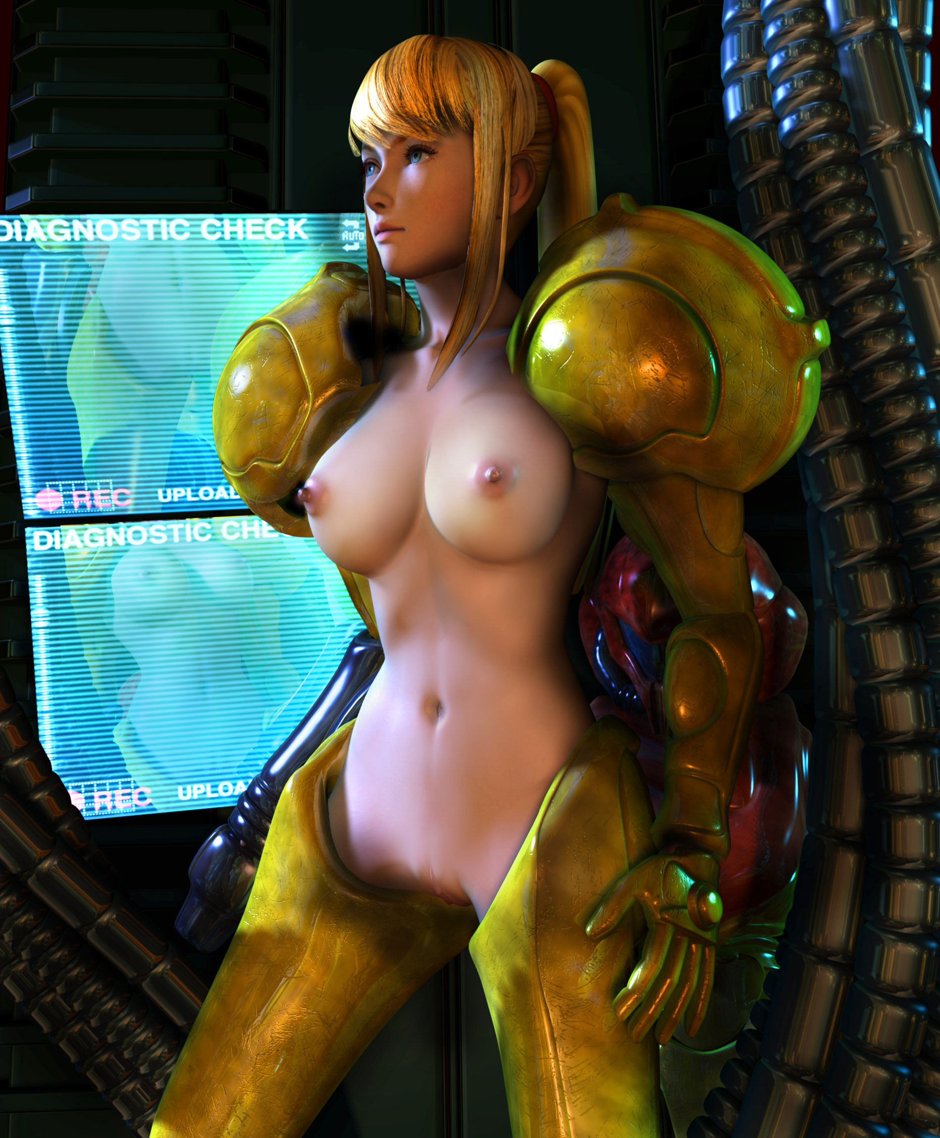Sexy samus naked you were